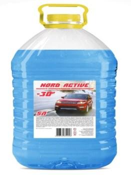 Жидкость стеклоомывающей низкозамерзающей «NORD ACTIVE»