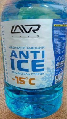 Незамерзающий омыватель стекол -150С LAVR Anti Ice