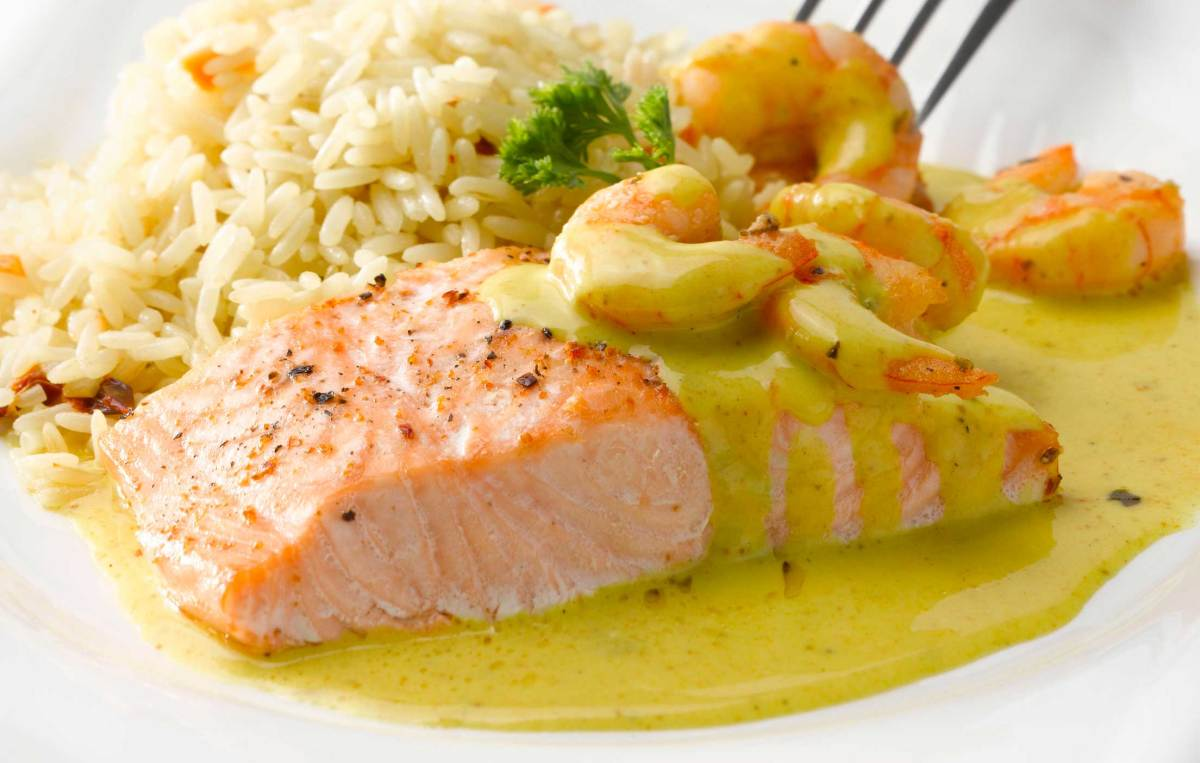 Cómo Preparar Salmón al Curry, un plato muy saludable.