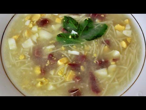 Sopa De Picadillo Del Puchero Ocho Sabores