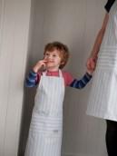 organic kids apron