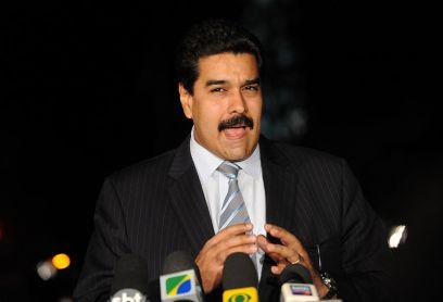 Nicolás Maduro o atual presidente