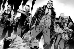 La crueldad del cómic de la serie de the walking dead.