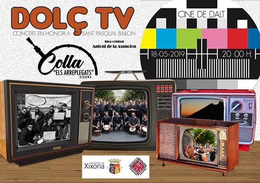 """Concert de Sant Pasqual """"Dolç TV"""" amb la Colla Els Arreplegats"""