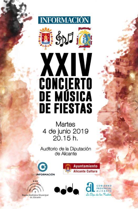 XXIV Concierto de música de fiestas en Alicante