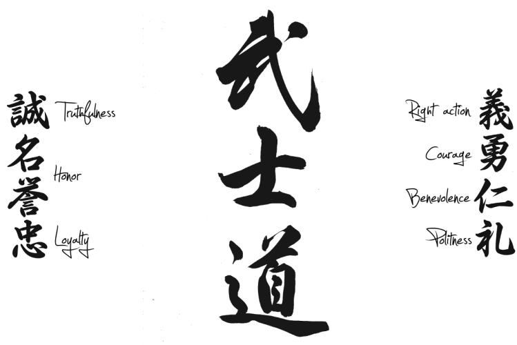 Resultado de imagen de bushido