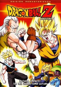 dragon ball z tres grandes super saiyans 212x300 - Orden cronológico para ver todas las series y películas de Dragon Ball