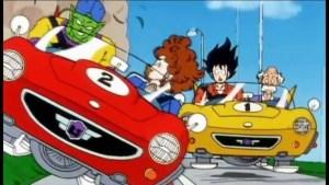 goku conducir 300x169 - Orden cronológico para ver todas las series y películas de Dragon Ball
