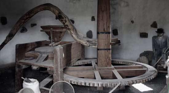 Imágenes del interior del Museo El Patio. Un lagar tradicional lanzaroteño
