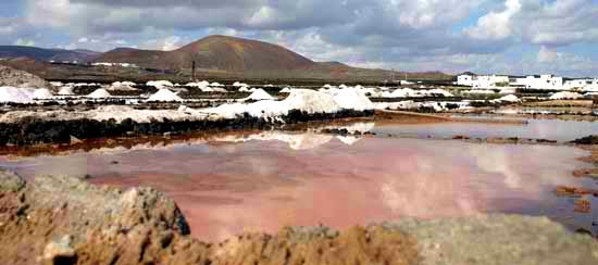 Las Salinas de Tío Alberto, Los Cocoteros, Lanzarote, senderismo en Lanzarote