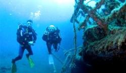 Scuba diving in Puerto Calero, Lanzarote