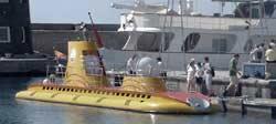 Submarino para un viaje bajo el mar, Puerto Calero, Lanzarote