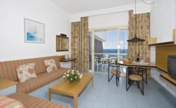 Habitación del Suite Hotel Los Fariones