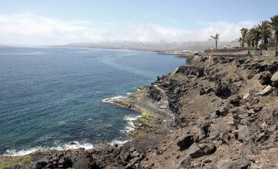 Cove Barranco del Quíquere,  cala de Puerto del Carmen