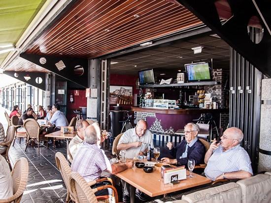 Ambiente de La Cervecería de El Reducto, Cafés y Terrazas de Arrecife de Lanzarote