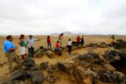 Senderismo arqueologico en fiuinineo con Senderismo Lanzarote