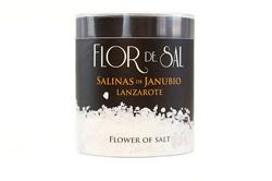 Flor de sal producto estrella de Salinas de Janubio, Lanzarote