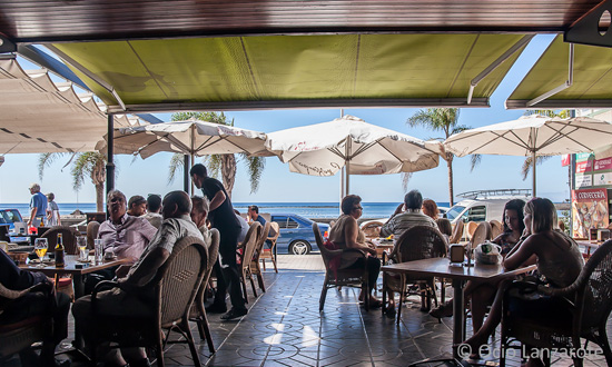 Panorámica de la avenida de El Reducto de Arrecife de Lanzarote desde La Cervecería
