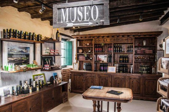 Estancia principal del Museo del Vino El Grifo