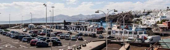 Vistas al puerto viejo desde La Taberna de Nino, restaurante de tapas y pinchos en Puerto del Carmen