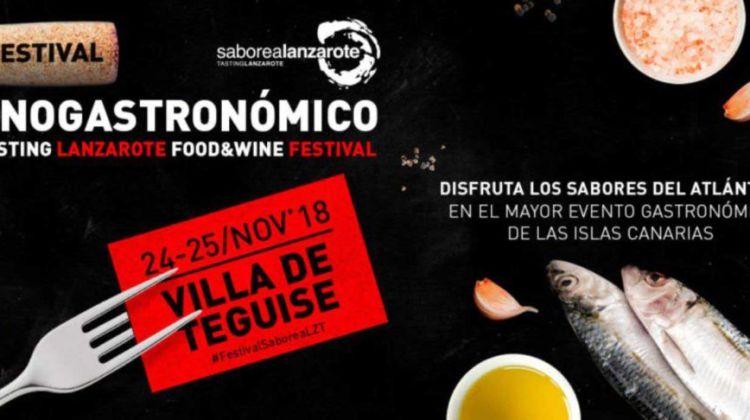 Festival Enogastronómico Saborea Lanzarote 2018