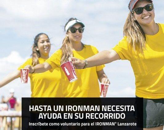ironman 2018 - ¡hazte voluntario!