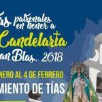 Fiestas patronales en honor a Ntra. Sra. La Candelaria y San Blas 2018 (Del 26 de enero al 04 de febrero)