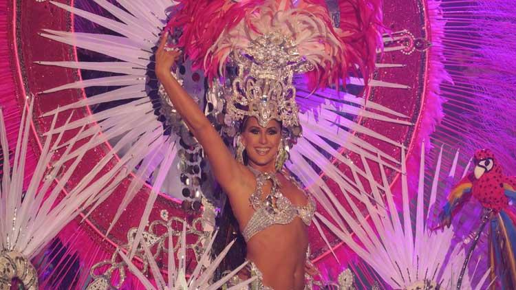 María Cedrés Pérez, Reina del Carnaval
