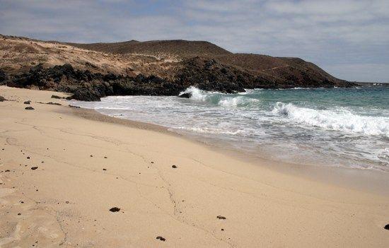 Beach Barranco Los Conejos (La Graciosa)