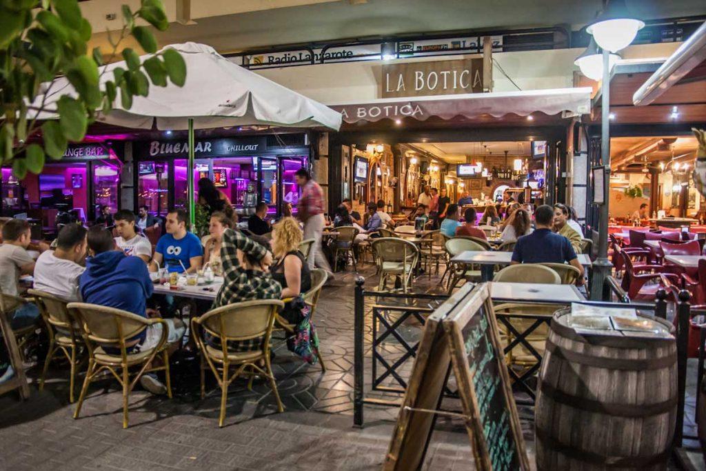 Cenas en Lanzarote
