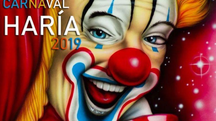 cartel y programa carnaval haria 2019