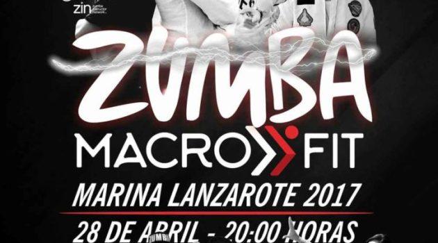 Master Class Zumba Macro-Fit en Marina Lanzarote (Viernes, 28 de abril)