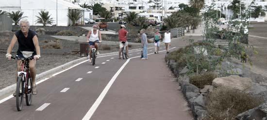 Paseo, carrera y bici de mantenimiento