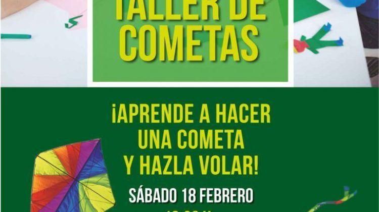 Taller de cometas en C.C. Biosfera Plaza (Sábado, 18 de febrero)