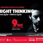 Night thinking, concierto de piano de Samuel Aguilar en Cueva de Los Verdes (Sábado, 09 de diciembre)