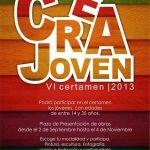 Abierto el plazo para participar en el VII Certamen Crea Joven 2013 (Del 02 de septiembre al 04 de noviembre)