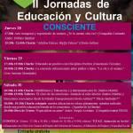 II Jornadas de Educación y Cultura Consciente (28, 29 y 30 de septiembre)