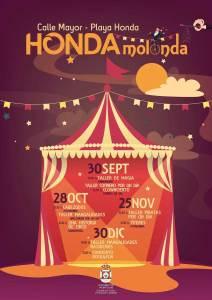 Honda Molonda, cultura y ocio en Playa Honda (De septiembre a diciembre)