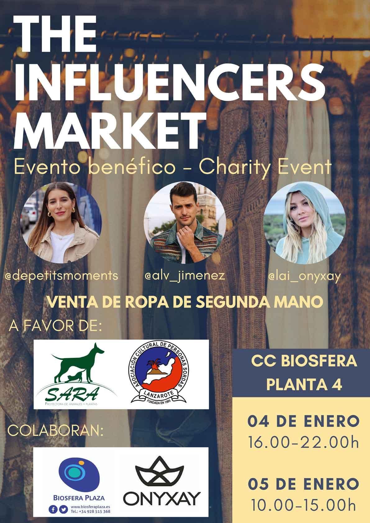 influencers market biosfera