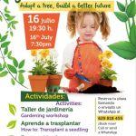 Taller de Jardinería en C.C. Biosfera Plaza (Sábado, 16 de julio)