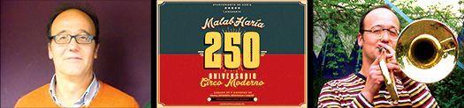 javier jimenez 250 aniversario del Circo Moderno