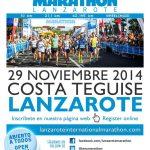 SUSPENDIDO Lanzarote International Marathon 2014 (Sábado, 29 de noviembre)