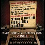 Jornadas de Literatura y Rock (Viernes, 21 de marzo)