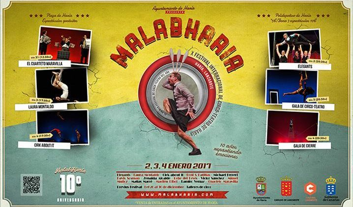 Previus-Festival MalabHaría 2017 (Del 26 al 31 de diciembre)