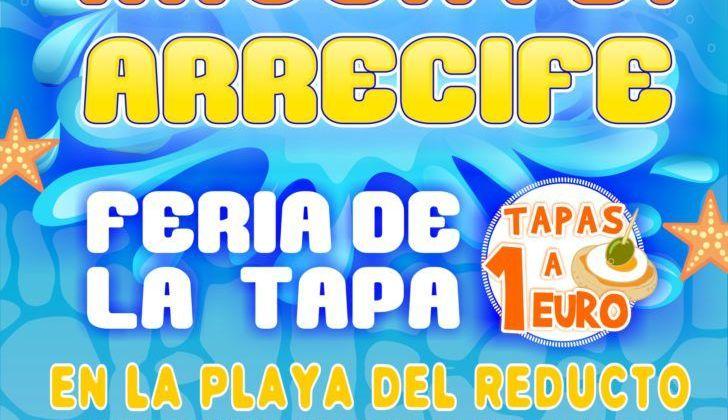 Mójate Arrecife 2017, Feria de la Tapa, música y diversión en el Reducto (Sábado, 23 de septiembre)