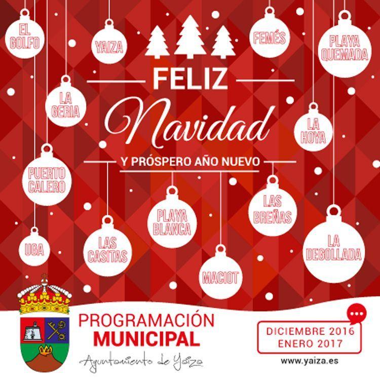 Programa Infantil de Navidad y Reyes Yaiza 2016/2017