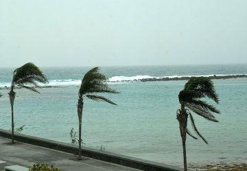 Alerta por lluvias y vientos en Canarias a partir del domingo