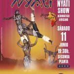 Show acrobático NYATI African footprints en C.C. Biosfera (Sábado, 11 de junio)