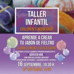 Aprende a crear tu jabón de fieltro en el C.C. Biosfera (Viernes, 16 de septiembre)