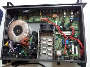 Arreglando amplificador